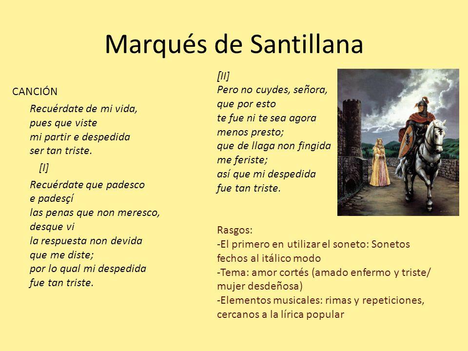 Marqués de Santillana [II]